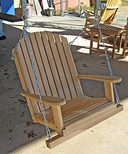 how to make a single swing seat